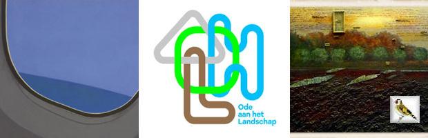 Detail afb JCJ Vanderheyden Take Off 1998 collectie Albert Heijn logo Ode aan het Landschap De omgewoelde aarde Bert Kinderdijk