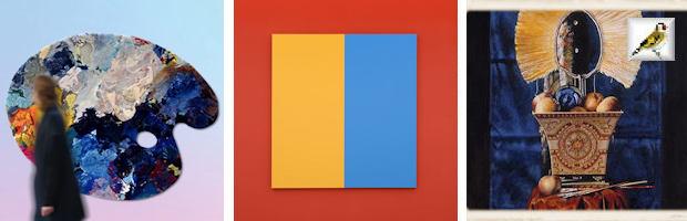 Kleureyck Design Museum Gent Steven Aalders Vergezicht 2019 olieverf op doek Frag schilderij BK
