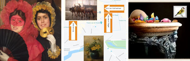 Museum Slager 's-Hertogenbosch Expositie 3 generaties 8 schilders Tentoonstelling Bespiegelingen Jelmer Wijma 2020