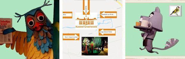 Tentoonstelling Fabeltjeskrant en de natuur Kasteel Groeneveld 2019