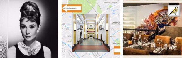 afb Audrey Hepburn Gemeentemuseum Den Haag Café Luden Plein Den Haag