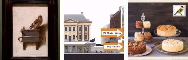 afb Het puttertje Carel Fabritius Mauritshuis Den Haag Hazelnootcrème gebak Maison Kelder