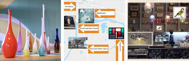 afb Sierflessen Floris Meydam Nationaal Glasmuseum Leerdam foto's puttertjes